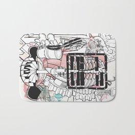 Broken Parts Bath Mat