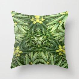 Celtic Yuletime Throw Pillow