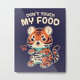 My Food Metal Print