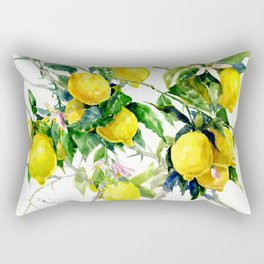 Lemon Tree Rectangular Pillow