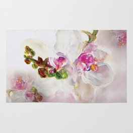 Orchid in Bloom Rug