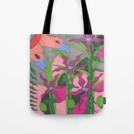 The Garden at Twilight Tote Bag