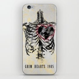 Grim Hearts 1985 iPhone Skin