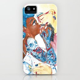 The Artist and The Muse iPhone Case