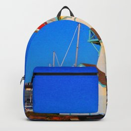 Summerside Harbour lighthouse Backpack