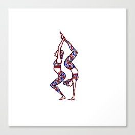 """Yoga Collection: """"Connected"""" Canvas Print"""