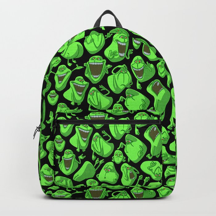 Fifty shades of slime. Backpack