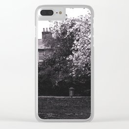 A bit of england which feels like home Clear iPhone Case
