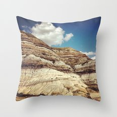 Striations Throw Pillow
