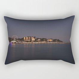 Torquay At Night Rectangular Pillow