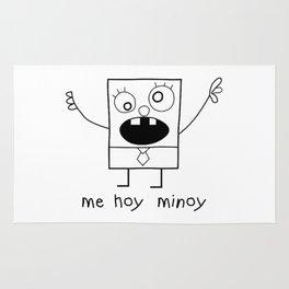 Doodlebob Me Hoy Minoy Rug