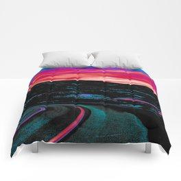 NEON NIGHTS Comforters