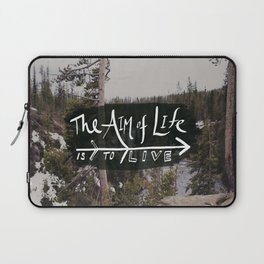 The Aim of Life x Wyoming Laptop Sleeve