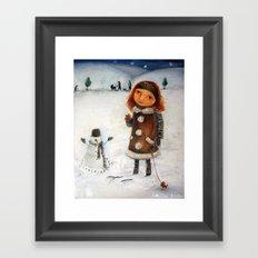 Joy Of Creation Framed Art Print