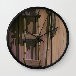 OLD_LADDER Wall Clock
