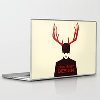 hannibal Laptop & iPad Skins featuring Hannibal by Pixel Design
