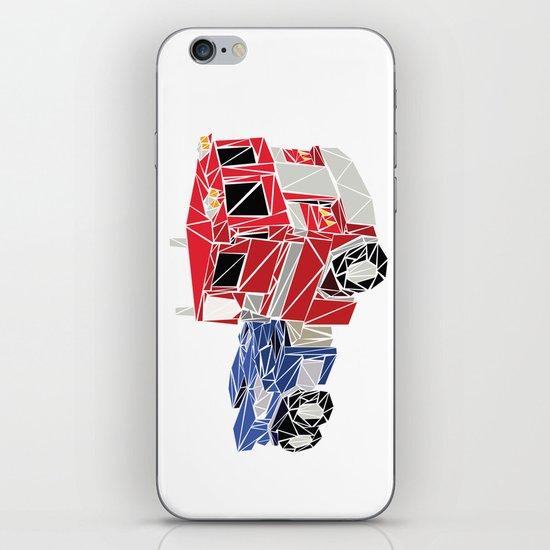 The Optimus Prime iPhone & iPod Skin