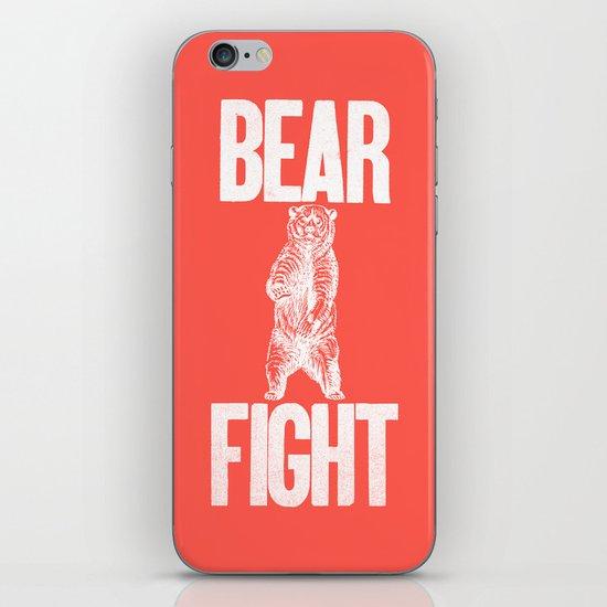 Bear Fight iPhone & iPod Skin