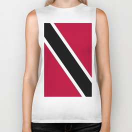 Trinidad and Tobago flag emblem Biker Tank