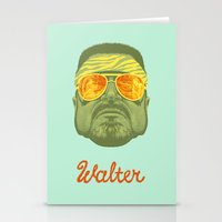 lebowski Stationery Cards featuring The Lebowski Series: Walter by Bubblegun