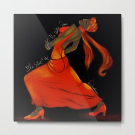 The Strut of Miss Willie Jean Metal Print