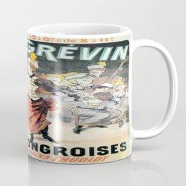 Vintage poster - Musee Grevin Coffee Mug
