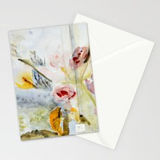 fragmented view Stationery Cards