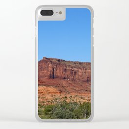 Traveling On Highway 123 Clear iPhone Case