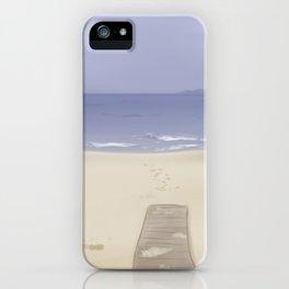 Calming Beach iPhone Case
