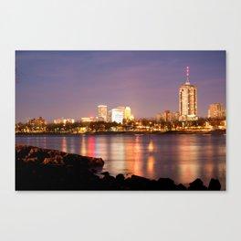 Tulsa Oklahoma from the Shoreline Canvas Print