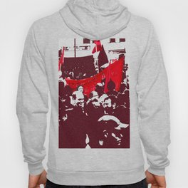 Black and red Hoody