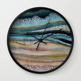 The Shore of Komodo Island Wall Clock