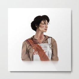 Claire Elizabeth Beauchamp Randall Fraser - Outlander Metal Print