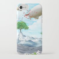 ballon iPhone & iPod Cases featuring Ballon Skyline by The Film Guy