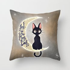 I Love You To The Moon & Back Throw Pillow