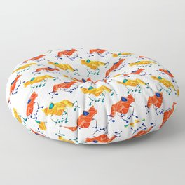 Poison Dart Frog Floor Pillow