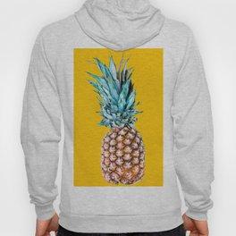 Pineapple Ananas On A Yellow Mellow Background #decor #society6 #buyart Hoody