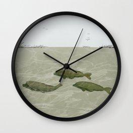 Carp Wall Clock