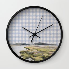 Low Country I Wall Clock