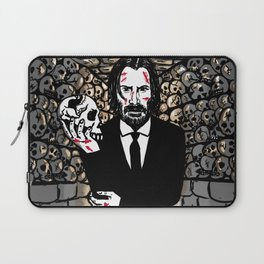 John Wick in the Catacombs Laptop Sleeve
