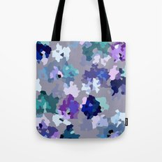 Crystallized Orchid Tote Bag