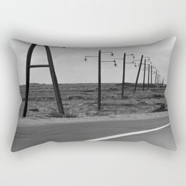 without a destination  Photo by Andrea Scuratti Rectangular Pillow