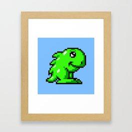 Hoi Amiga game sprite Framed Art Print