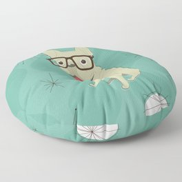 Frank the Frenchie Floor Pillow