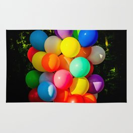 Colorful Toy Balloons Rug