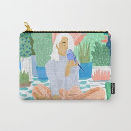 Early Lovebird Carry-All Pouch
