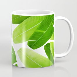 Banana Leafs Pattern Coffee Mug