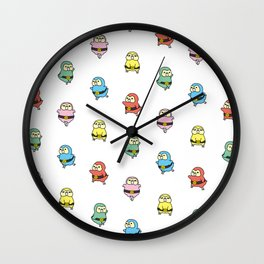 Kakaponger Wall Clock