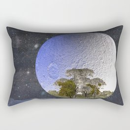 'Faint indeterminate glimpses... Rectangular Pillow