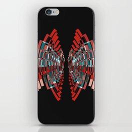 red box iPhone Skin